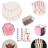 Neapolitan Cake Tasting Party Supply Guide