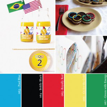 Hue It Yourself: An Olympics Party