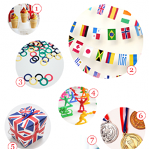 An Olympics Party Supply Guide