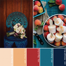 Hue It Yourself: Freshly Picked Peach Party