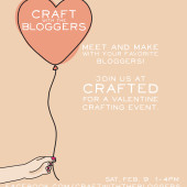 You're Invited to Craft with the Bloggers!