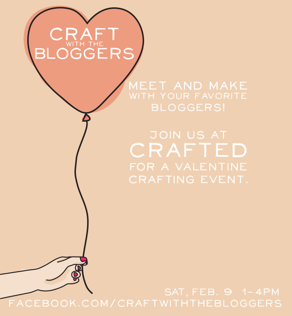 Valentine Craft with the Bloggers Event