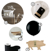 Black + White + Neutral All Over Party Supply Guide