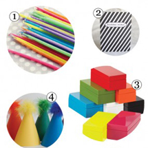 Black + White + Rainbow All Over Party Supply Guide