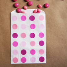 DIY Polka Dot Treat Bags