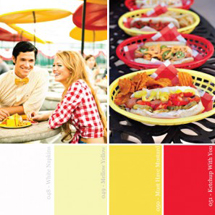 Hue It Yourself: Red + Yellow Memorial Day Barbecue