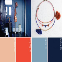 Hue It Yourself: Moody Blues + Copper Hues