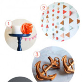 Moody Blues + Copper Hues Party Supply Guide