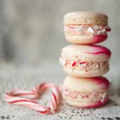 Peppermint Macarons (A Step by Step Tutorial!)