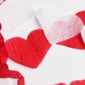 DIY Heart Streamers