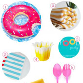 Punchy Summer Pool Party Supply Guide