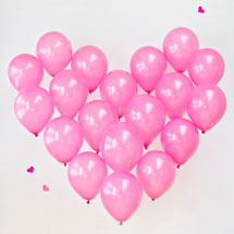 DIY Giant Balloon Heart