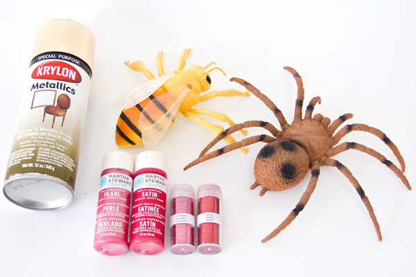 DIY Giant Love Bug Supplies
