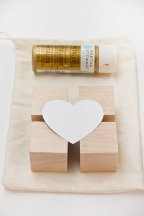 DIY Glitter Block Puzzle Valentine Supplies