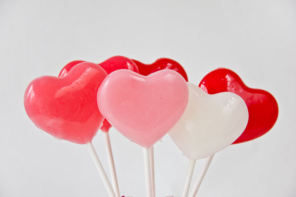 DIY Lollipops for Valentine's Day