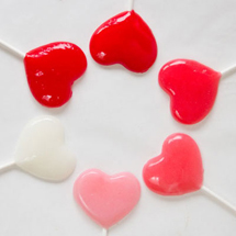 DIY Heart Lollipops