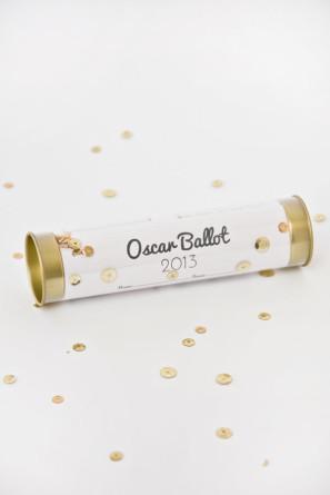 Free Printable Oscar Ballot DIY