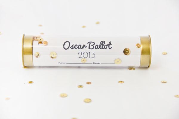 Free Printable Oscar Ballot