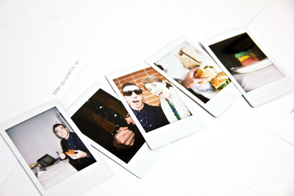 Instax Birthday Photos