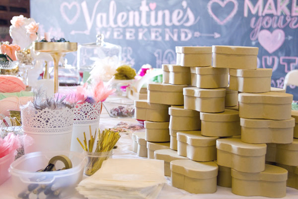 Valentines Day Craft Events