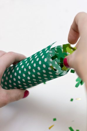 Confetti Poppers for St Patricks Day