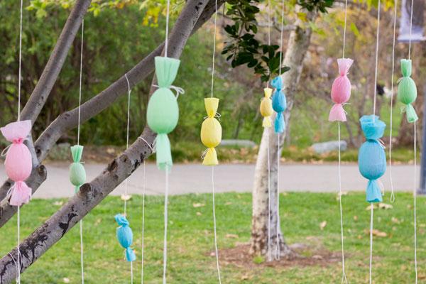DIY Egg Popper Trees