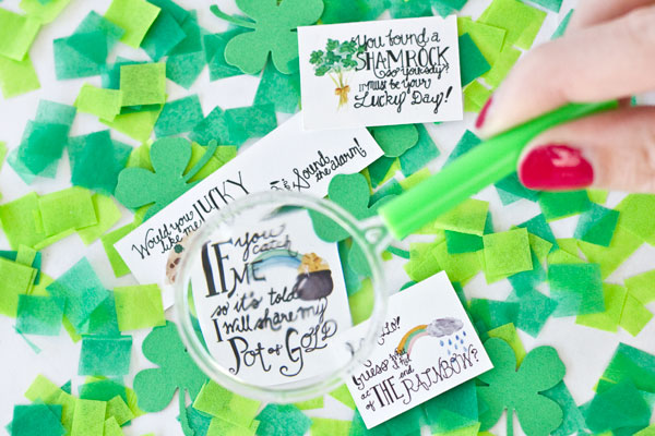 Free Printable Leprechaun Notes for St. Patricks Day