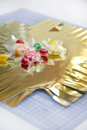 Fringe Mylar Treat Bag