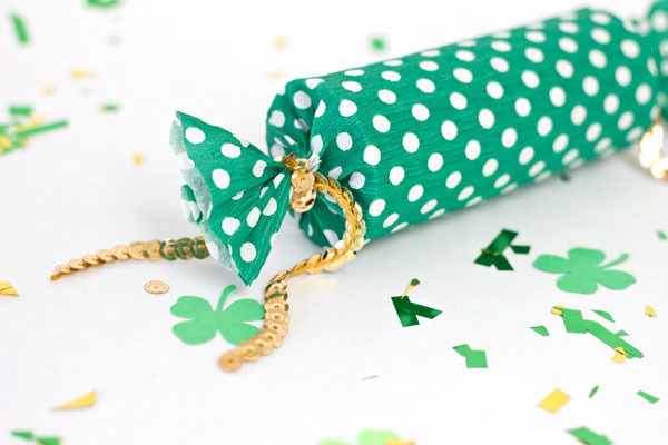 Lucky Confetti Popper DIY for St Patricks Day