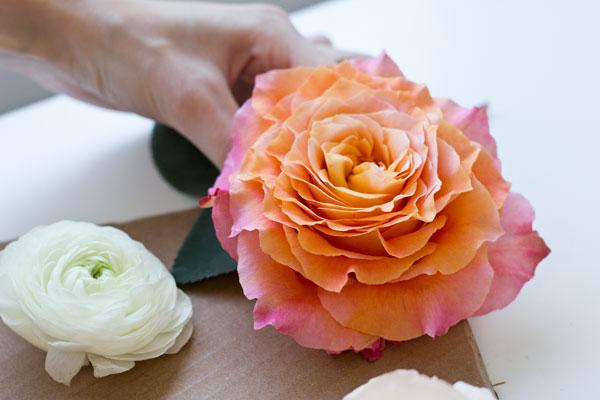 DIY Flower Banners