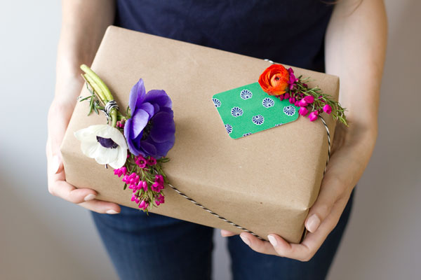 DIY Flower Gift Tags