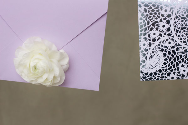 DIY Fresh Flower Envelopes