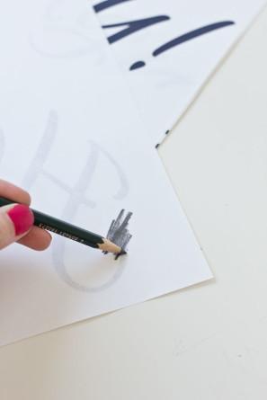 DIY Handwritten Font