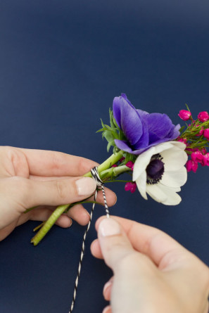Fresh Flower Gift DIY Tutorial