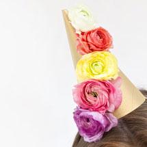 Fresh-Flower-Party-Hats-DIYthumb