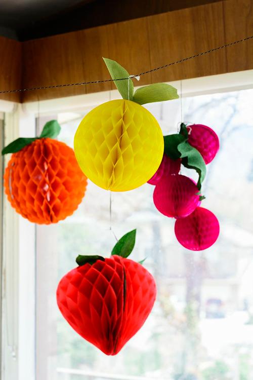 DIY Fruit Honeycombs