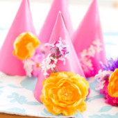 Madeline's DIY Colorful Flower-Filled Birthday Party