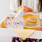 Free Mother's Day Breakfast in Bed Printables
