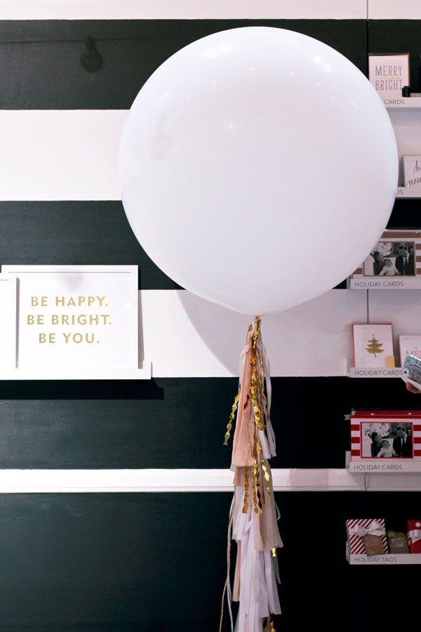 Geronimo Balloon at Sugar Paper