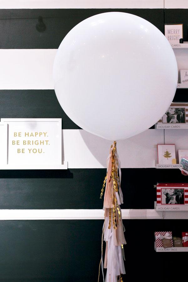 Geronimo Balloon at Sugar Paper