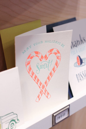 Ladyfingers Letterpress Holiday Card