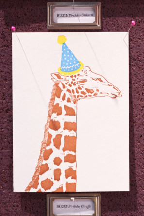 Papillon Press Party Hat Card