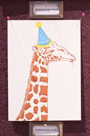 Papillon Press Party Hat Card