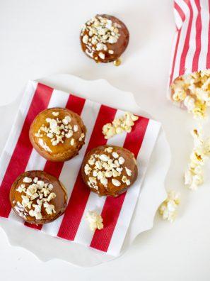 Popcorn Topped Donut Recipe