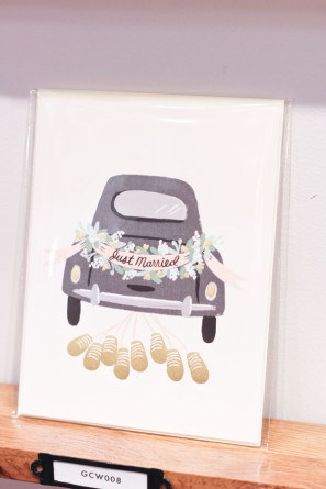 Rifle Paper Co Just Married Card