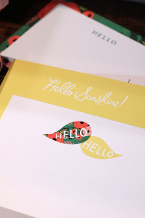 Rifle Paper Hello Stationery