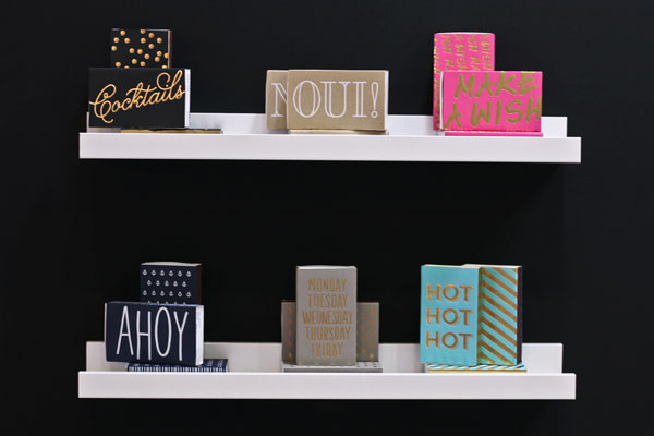 Social Type Matchboxes