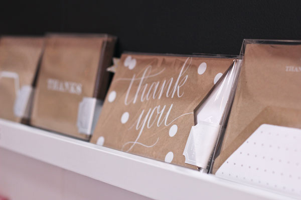 Sugar Paper Thank You Notes