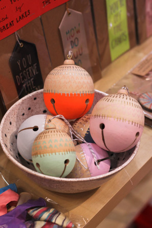 The Great Lakes Goods Wooden Jingle Bells