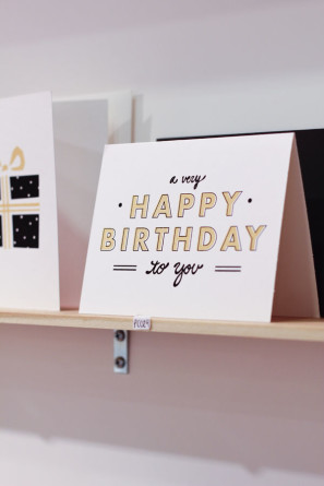 The Paper Cub Birthday Card